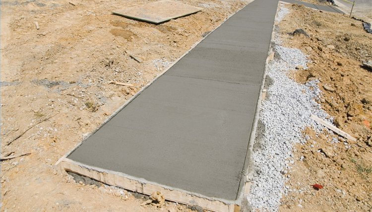 Ready mix slab
